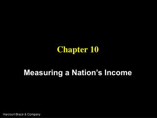 Measuring a Nation s Income
