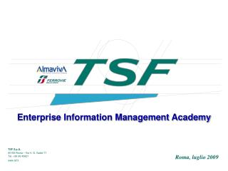Enterprise Information Management Academy