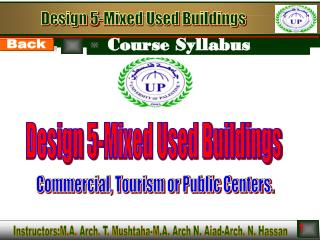 Design 5-Mixed Used Buildings
