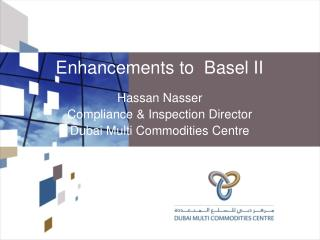 Enhancements to  Basel II