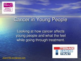 Cancer in Young People