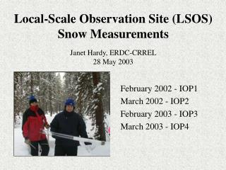 Local-Scale Observation Site (LSOS) Snow Measurements
