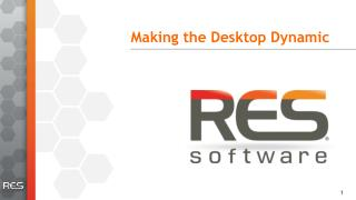 Making the Desktop Dynamic