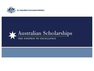 Overview of  Australian Scholarships