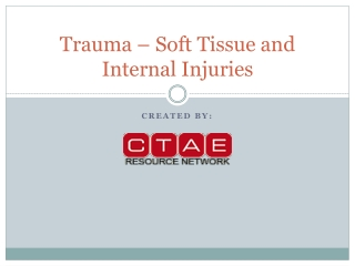 Soft-Tissue Injuries