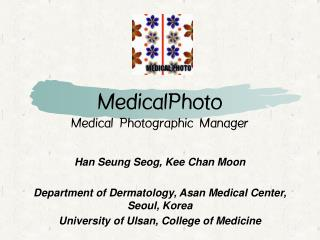 MedicalPhoto Medical Photographic Manager