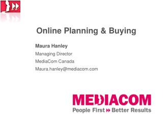 Online Planning & Buying