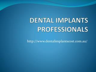 Dental Implants Dentist - Dentalimplantscost.com.au