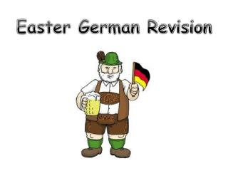 Easter German Revision