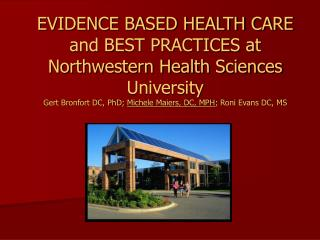 Northwestern Health Sciences University (NWHSU)