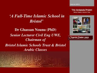 'A Full-Time Islamic School in Bristol'