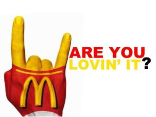 DECIDE THE ANSWER TO THE FOLLOWING STATEMENTS ABOUT MCDONALDS…