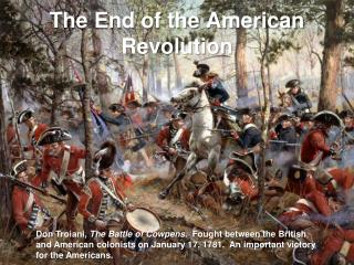 The End of the American Revolution