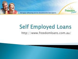 Low Doc Loans - Freedomloans.com.au