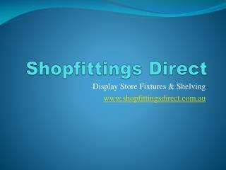 Shelving - Shopfittingsdirect.com.au