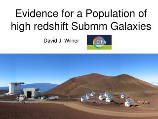 Evidence for a Population of high redshift Submm Galaxies