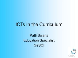 ICTs in the Curriculum