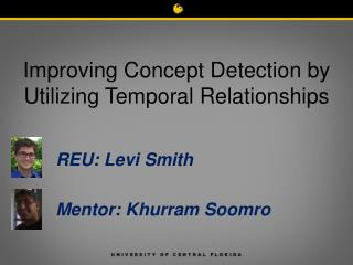 Improving Concept Detection by Utilizing Temporal Relationships