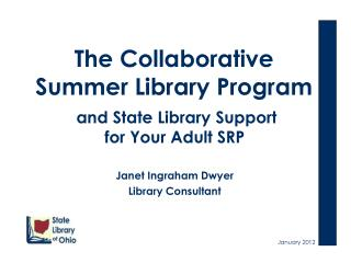 The Collaborative Summer Library Program