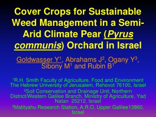 Cover Crop Introduction