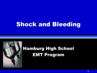 Shock and Bleeding