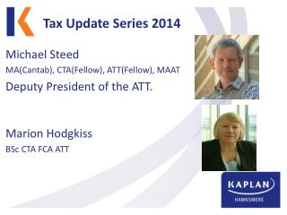 Tax Update Series 2014