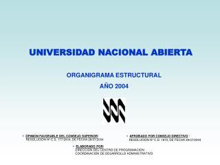 UNIVERSIDAD NACIONAL ABIERTA