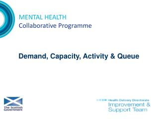 MENTAL HEALTH Collaborative Programme
