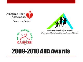 2009-2010 AHA Awards