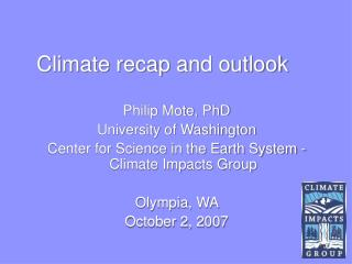 Climate recap and outlook