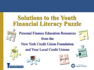 Solutions to the Youth Financial Literacy Puzzle