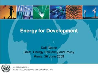 Energy for Development