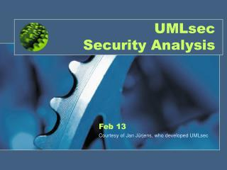 UMLsec Security Analysis