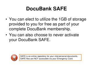 DocuBank SAFE