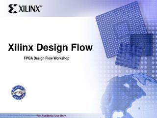 Xilinx Design Flow