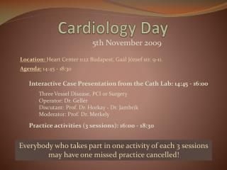 Cardiology Day