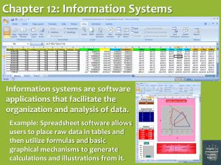 Chapter 12: Information Systems
