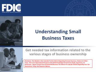 Understanding Small Business Taxes