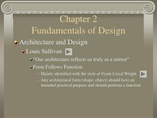 Chapter 2                             Fundamentals of Design