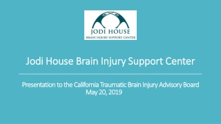 Traumatic Brain Injury -