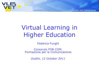 Virtual Learning in  Higher Education