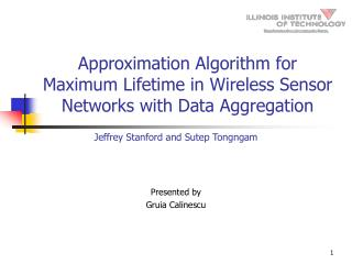 Approximation Algorithm for Maximum Lifetime in Wireless Sensor Networks with Data Aggregation