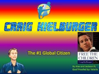 The #1 Global Citizen