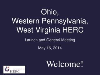 Ohio,  Western Pennsylvania, West Virginia HERC