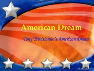 the key points of the american dream