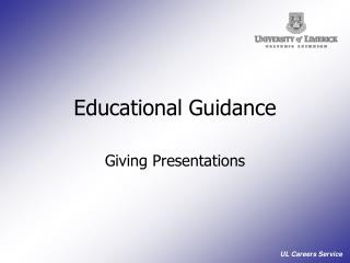 Educational Guidance