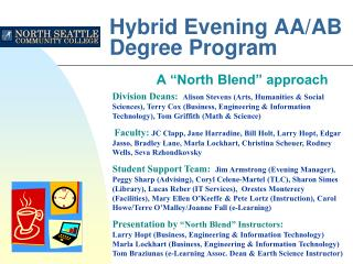 Hybrid Evening AA/AB Degree Program