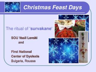 Christmas Feast Days
