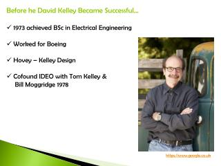 Before he David Kelley Became Successful… 1973 achieved BSc in Electrical Engineering
