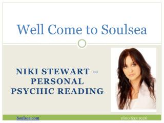 Personal Psychic Reading services offer by Niki Stewart